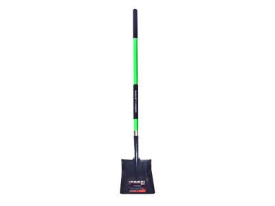 Trade Fibreglass Square Mouth Shovel Long Handle