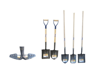 Wasp USA Hickory Handled Shovels