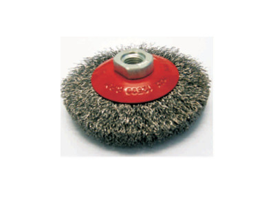 Crimped Wire Conical Brushes