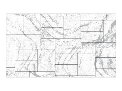 Stamped Pattern - Ashlar Slate