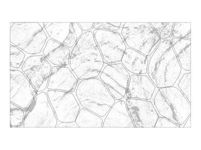 Stamped Pattern - Bushrock
