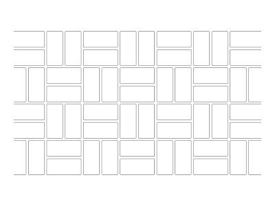 Stencil Pattern - Basket Weave