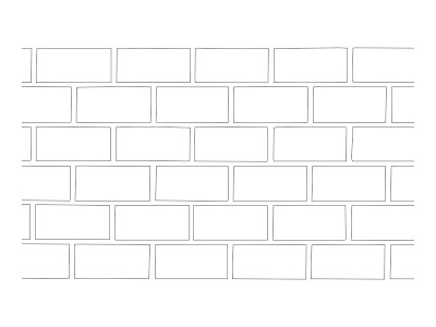 Stencil Pattern - Brick