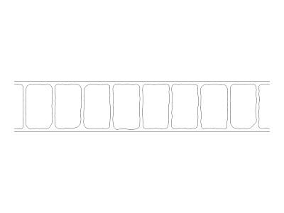 Stencil Pattern - Cobble Header