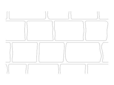 Stencil Pattern - Cobblestone