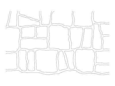 Stencil Pattern - Convict Brick