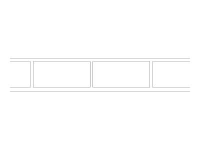 Stencil Pattern - Edge Brick Header
