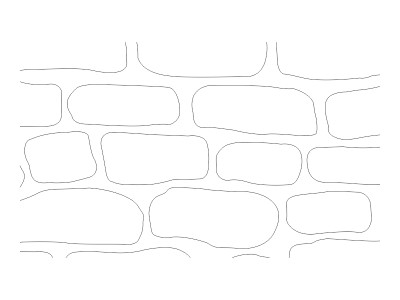 Stencil Pattern - English Cobble