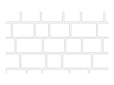 Stencil Pattern - Random Bluestone