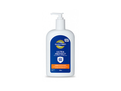 Auscreen Ultra Protect Sunscreen 50+ - 500 ml Pump Pack