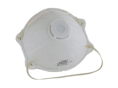 On Site Safety P2 Dust Mask with Valve
