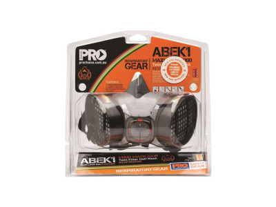 ProChoice Assembled Half Mask With ABEK1 Cartridges