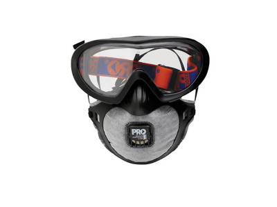 ProChoice Filterspec Pro Goggle / Mask Combo P2+Valve+Carbon