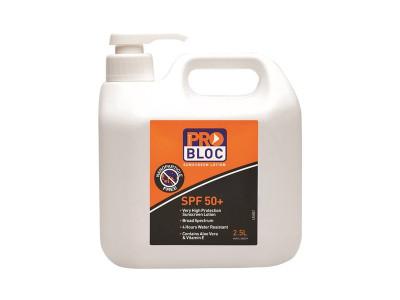 ProChoice Probloc 50+ Sunscreen 2.5 Litre