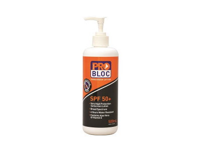 ProChoice Probloc 50+ Sunscreen 500mL