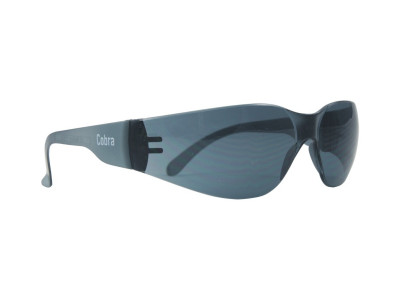 Cobra Safety Glasses - Smoke Lens