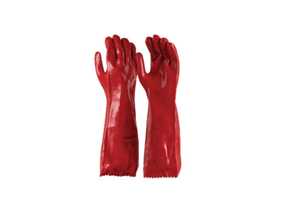 MaxiSafe Red PVC 45cm Gauntlet