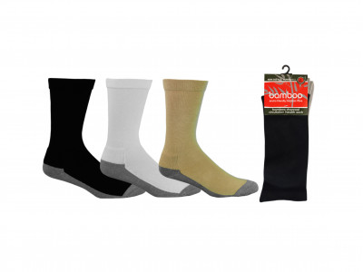 Bamboo Charcoal Circulation Health Socks