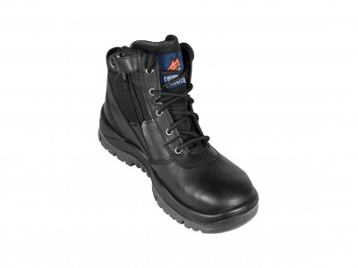 Black ZipSider Boot - P Series