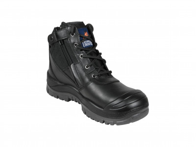 Black ZipSider Boot -SC Series