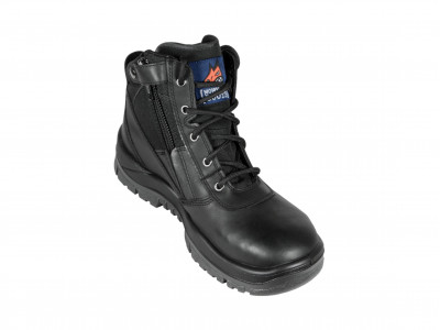Black ZipSider Boot - SE Series