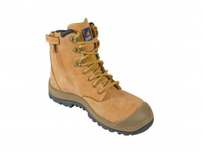 Wheat High Ankle ZipSider Boot - R Series