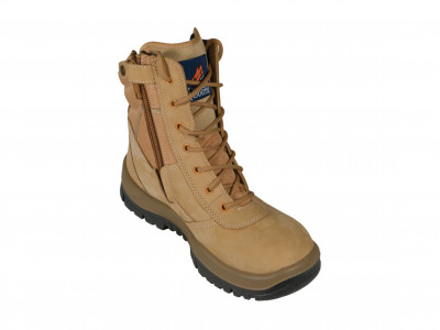 Wheat High Leg ZipSider Boot - P Series