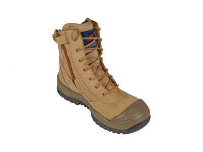 Wheat High Leg ZipSider Boot - SC Series