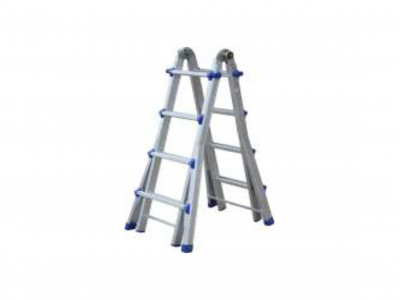 Ladder Aluminium Multi Telescopic 120kg