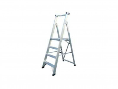 Ladder Aluminium Platform Multi Steps 150kg