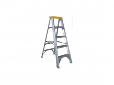 Ladder Aluminium Single Sided Step 150kg