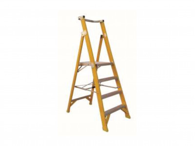 Ladder Fibreglass Platform Multi Steps 150kg