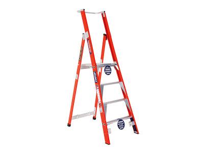 Premium Platform Step Ladders - Fibreglass