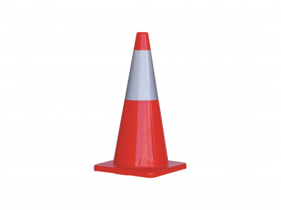 ProChoice Orange PVC Traffic Cone / Reflective Tape