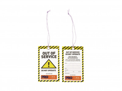 ProChoice Safety Tag -125mm x 75mm Caution