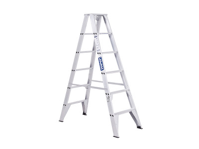 Step Ladders Double Sided - Aluminium