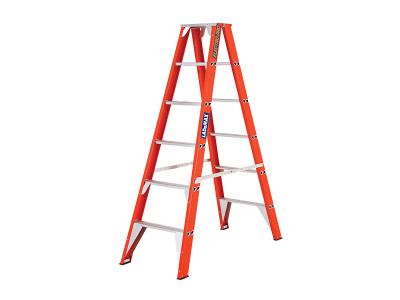 Step Ladders Double Sided - Fibreglass