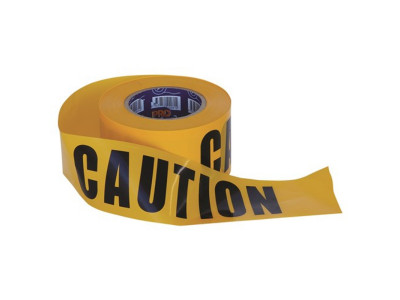 ProChoice Barricade Tape  CAUTION Print - 100m x 75mm
