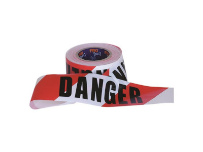 ProChoice Barricade Tape DANGER Print - 100m x 75mm