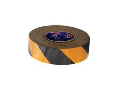 ProChoice Self Adhesive Reflective Hazard Tape Yellow & Black - 50m x 50mm