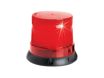 Fireball Warning Light Magnetic - Red