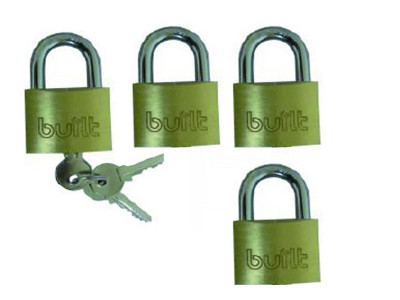 Built 40 mm Padlock 40mm - 4 Pc